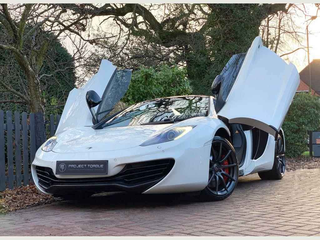 McLaren 12C Convertible 3.8 Spider S-Auto 2dr