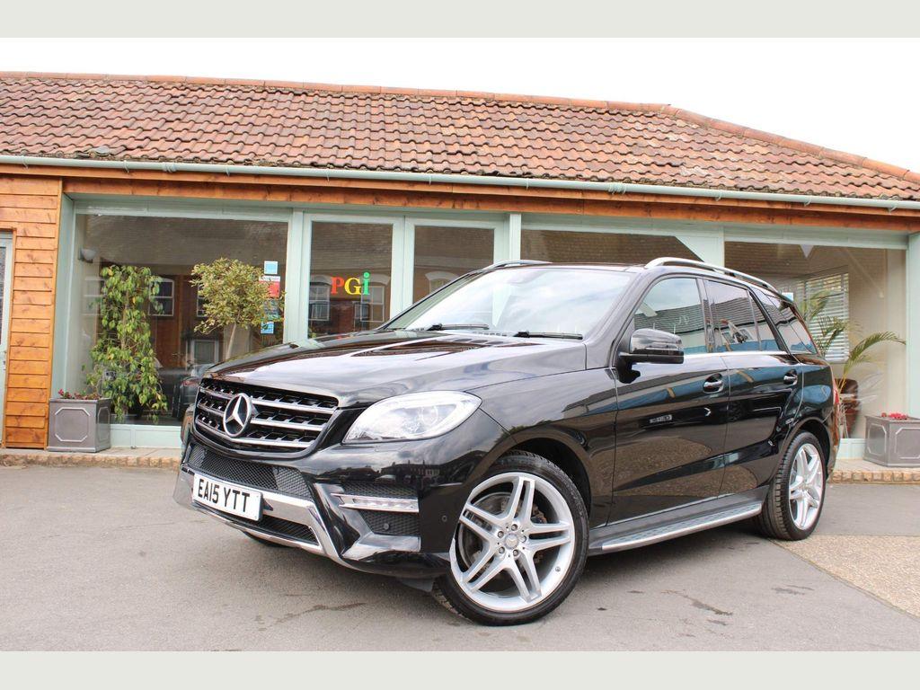 Mercedes-Benz M Class SUV 2.1 ML250 CDI BlueTEC AMG Line (Premium) 7G-Tronic Plus 4MATIC 5dr