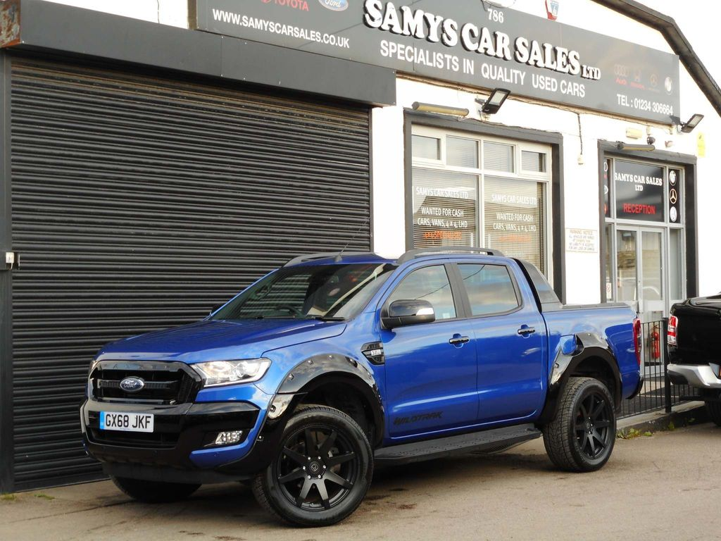 FORD RANGER Pickup 3.2 TDCi Wildtrak X Double Cab Pickup Auto 4WD 4dr