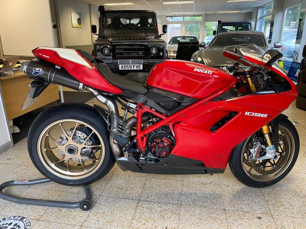 Ducati 1098 Super Sports 1098 R