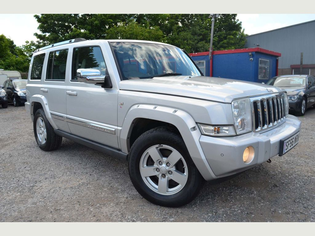 Jeep Commander SUV 3.0 CRD V6 Limited 4x4 5dr