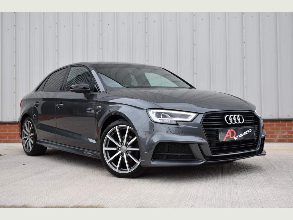 Audi A3 Saloon 2.0 TDI Black Edition (s/s) 4dr