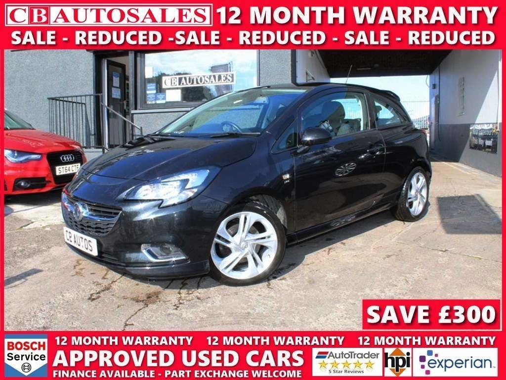 Vauxhall Corsa Hatchback 1.4i Turbo ecoTEC SRi VX Line (s/s) 3dr