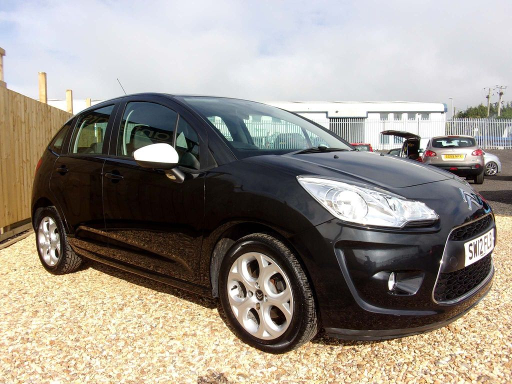 Citroen C3 Hatchback 1.4 i 8v Black 5dr