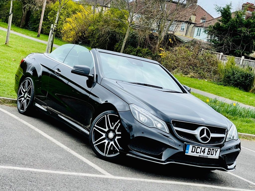 Mercedes-Benz E Class Convertible 3.0 E400 AMG Sport Cabriolet 7G-Tronic Plus 2dr