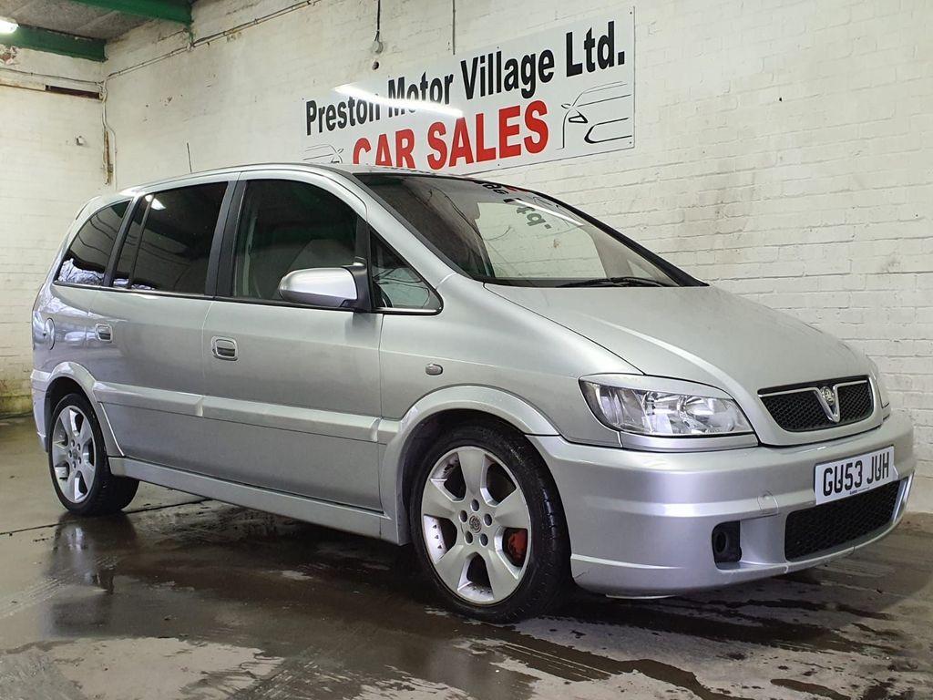 Vauxhall Zafira MPV 2.0 i Turbo 16v GSi 5dr