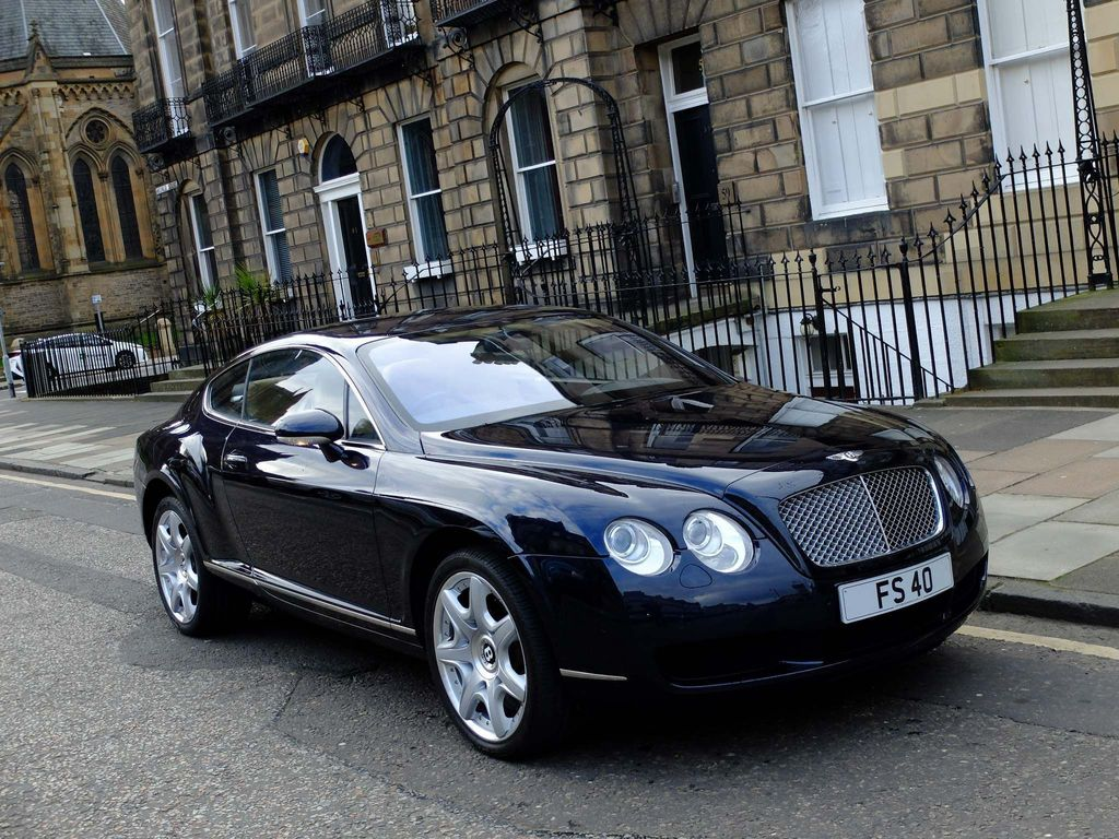Used Bentley Continental Coupe 6 0 Gt 2dr In Edinburgh City Of Edinburgh Derek C Mowat