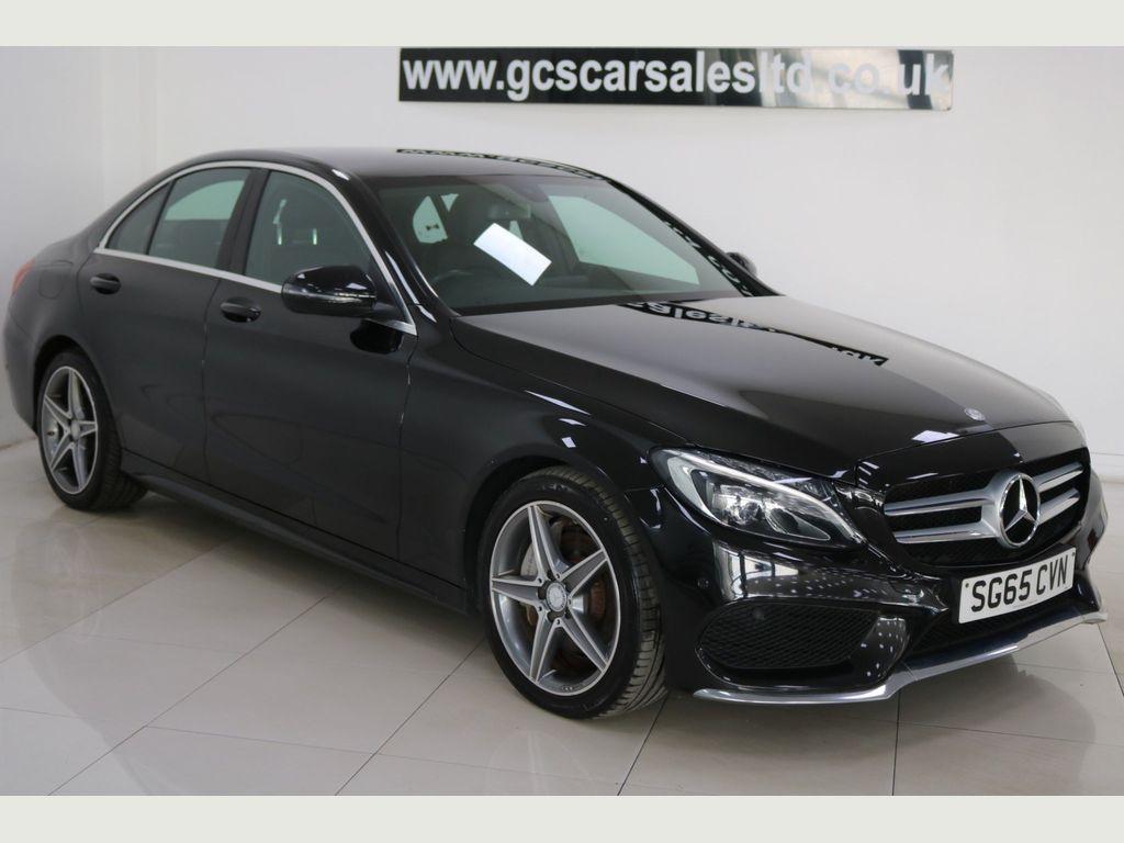 Mercedes-Benz C Class Saloon 2.1 C300dh AMG Line G-Tronic+ (s/s) 4dr