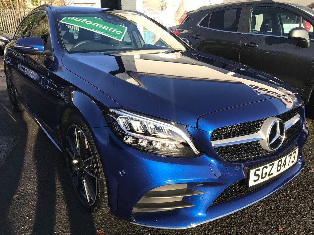 Mercedes-Benz C Class Estate 1.5 C200 EQ Boost AMG Line G-Tronic+ (s/s) 5dr