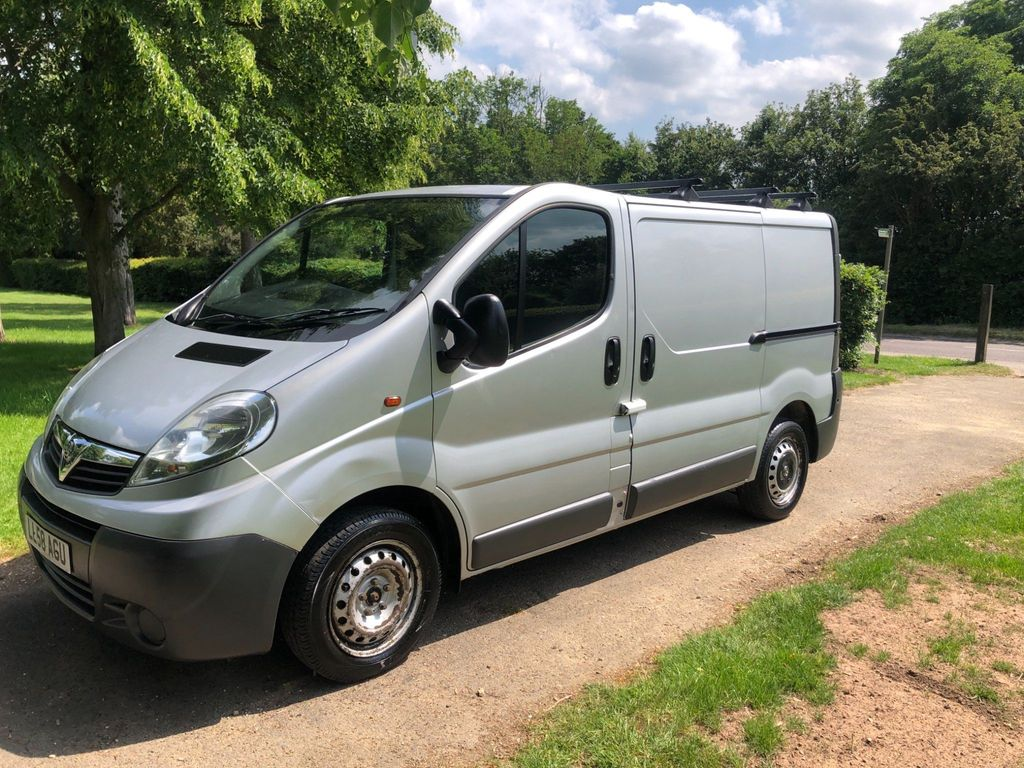 Vauxhall Vivaro Panel Van 2.0 CDTi 2700 Panel Van SWB 4dr (EU4, SWB)