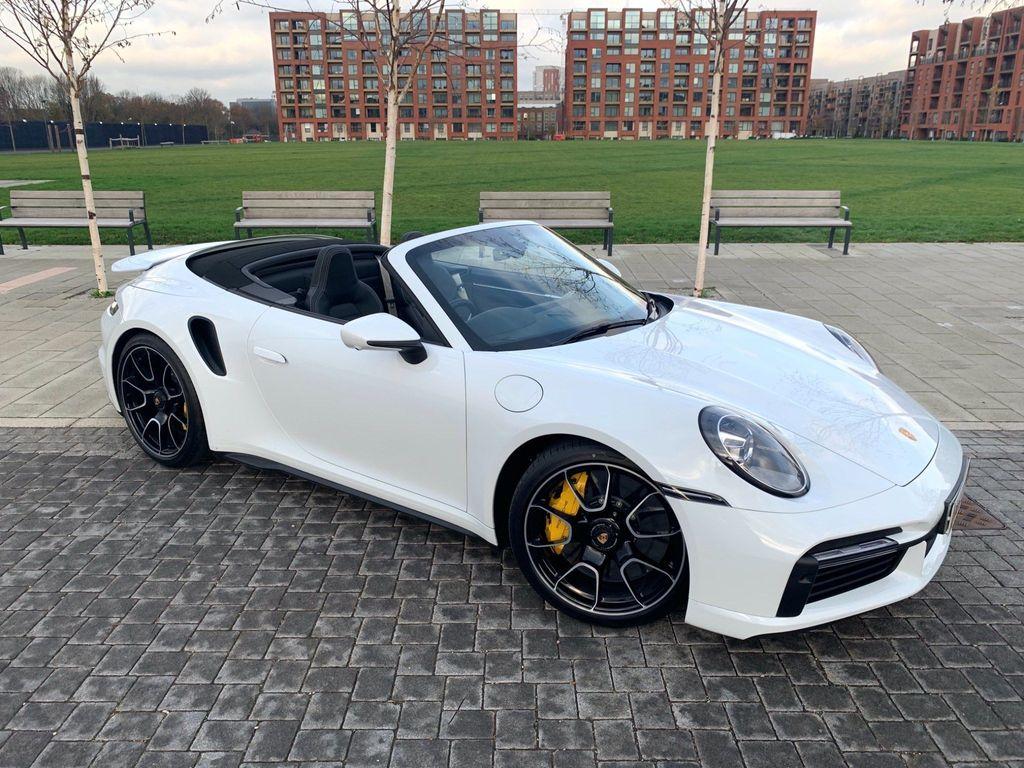 Porsche 911 Convertible 3.8T 992 Turbo S PDK 4WD (s/s) 2dr