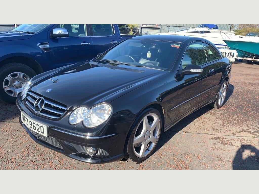 Mercedes-Benz CLK Coupe 1.8 CLK200 Kompressor Sport 2dr