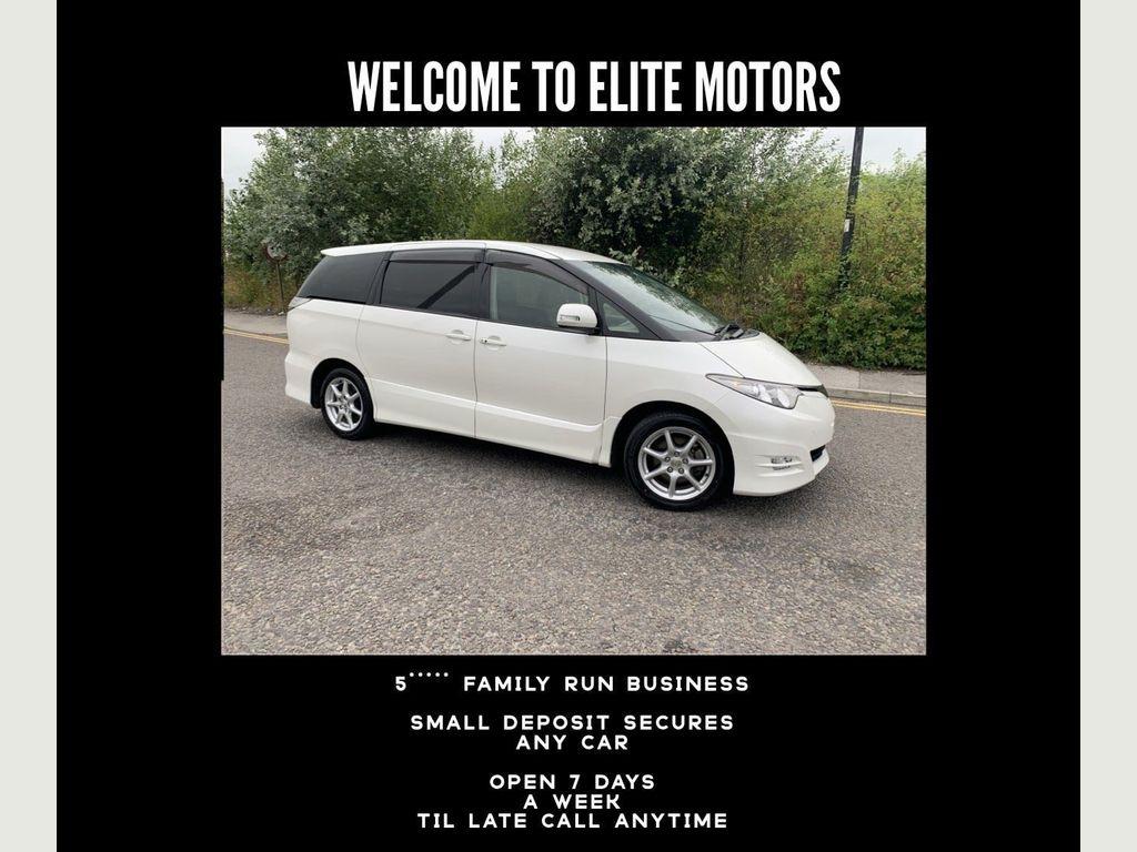 Toyota Estima MPV 2.4 Aeras Automatic 8 Seater Pearl White
