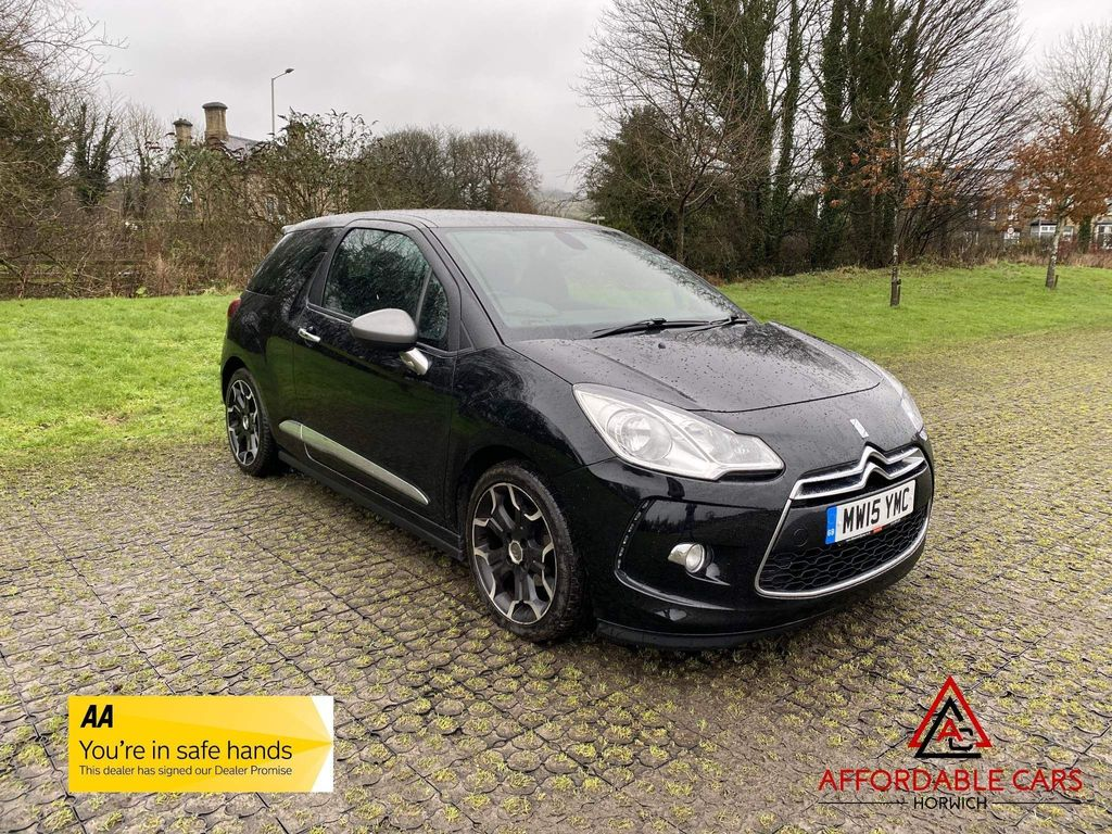 Citroen DS3 Hatchback 1.6 BlueHDi DSire Blue 3dr