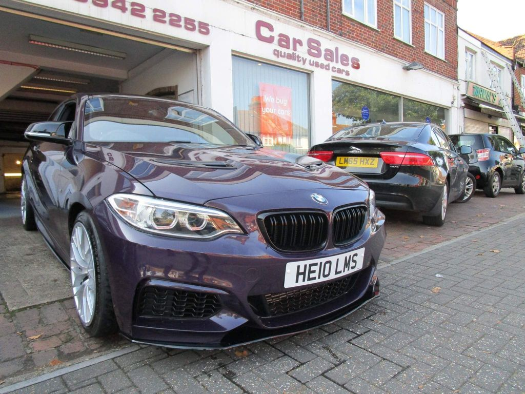 BMW 2 Series Coupe 1.5 218i M Sport Auto (s/s) 2dr