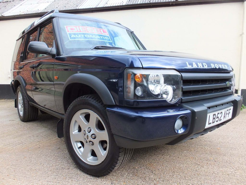 LAND ROVER DISCOVERY SUV 2.5 TD5 ES 5dr (7 Seats)