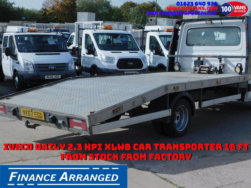 IVECO DAILY Vehicle Transporter DEPOSIT TAKEN