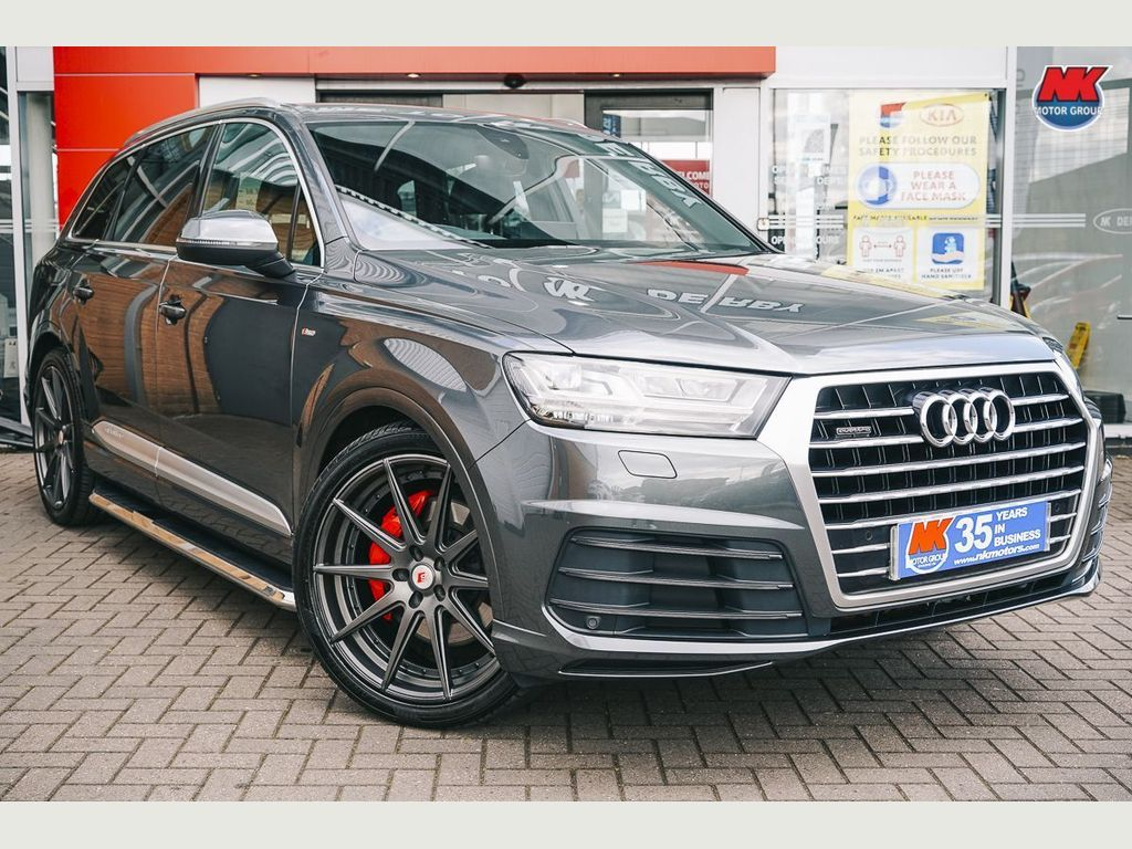 Audi Q7 SUV 3.0 TDI V6 45 S line Tiptronic quattro (s/s) 5dr