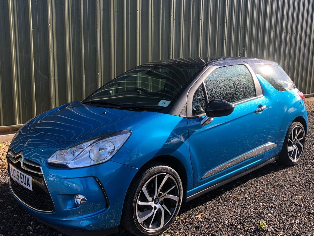 Citroen DS3 Hatchback 1.2 PureTech DStyle Plus (s/s) 3dr