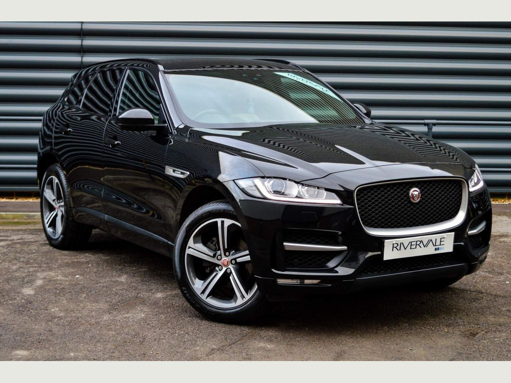 Used Jaguar F Pace Suv 2 0d R Sport Black Edition Auto Awd S S 5dr In Brighton East Sussex Rivervale Approved Used Vehicles
