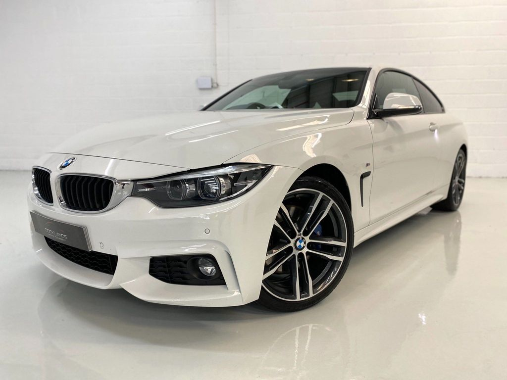 BMW 4 Series Coupe 2.0 420i GPF M Sport Auto (s/s) 2dr
