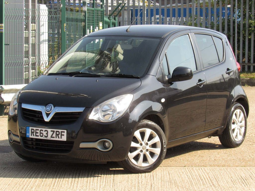 Vauxhall Agila Hatchback 1.2 i ecoFLEX 16v SE 5dr (a/c)