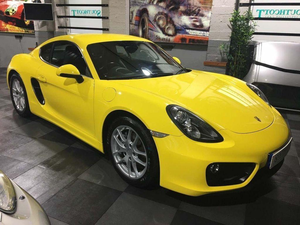 Porsche Cayman Coupe 2.7 981 (s/s) 2dr