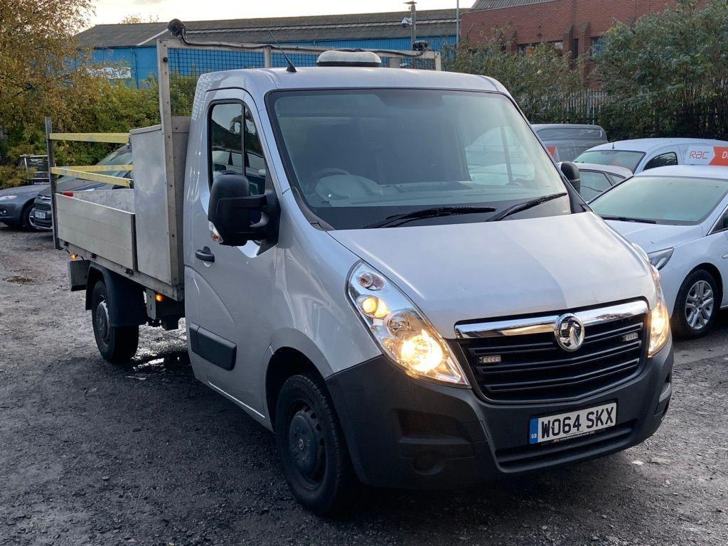 Vauxhall Movano Chassis Cab 2.3 CDTi 3500 16v L2H1 FWD 2dr