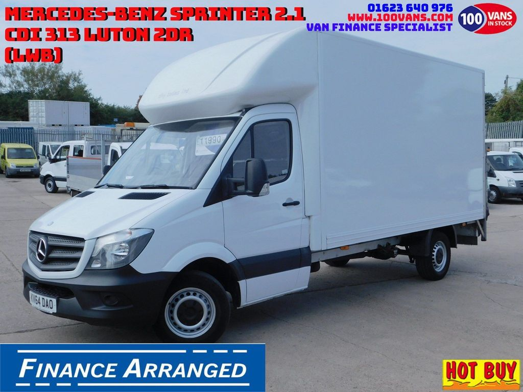 Mercedes-Benz Sprinter Chassis Cab 2.1CDI 313 130PS LUTON & TAIL LIFT