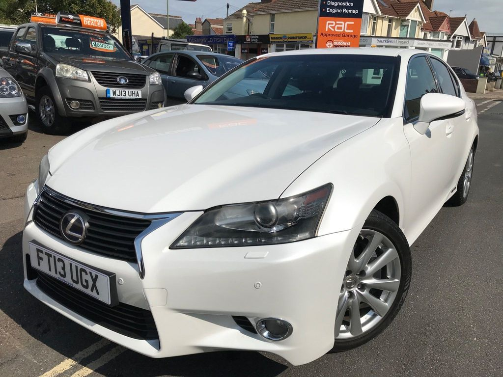 Lexus GS 450h Saloon 3.5 Luxury 4dr