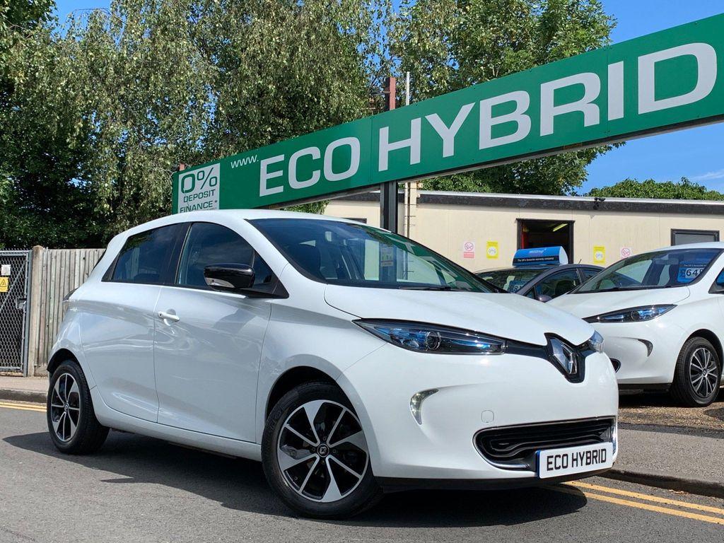 Renault Zoe Hatchback Q90 41kWh Dynamique Nav Auto 5dr (Quick Charge, Battery Lease)