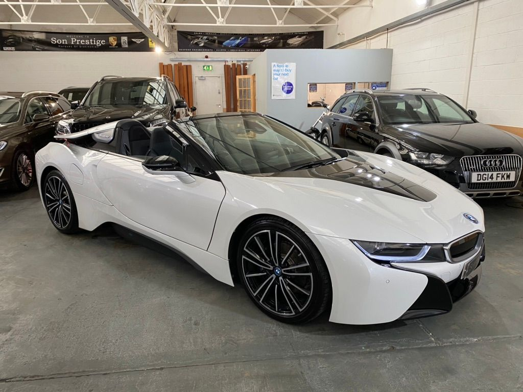 Used Bmw I8 Convertible 1 5 11 6kwh Roadster Auto 4wd S S 2dr In Nottingham Nottinghamshire Son Prestige