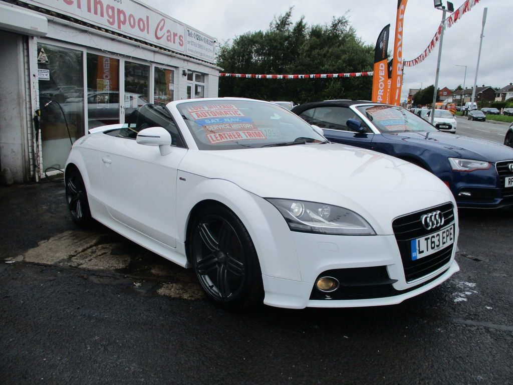 Audi TT Convertible 1.8 TFSI S line Roadster S Tronic 2dr