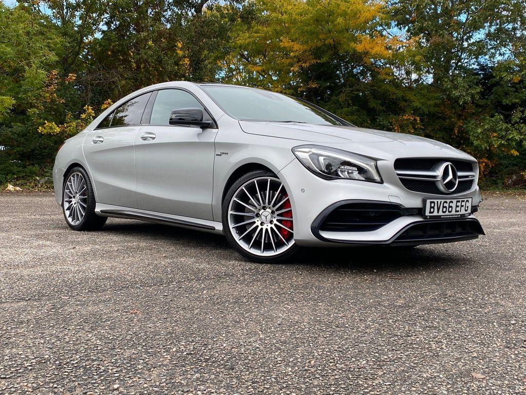 Mercedes-Benz CLA Class Coupe 2.0 CLA45 AMG SpdS DCT 4MATIC (s/s) 4dr