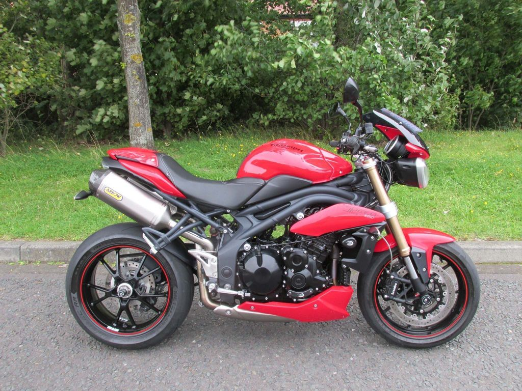 TRIUMPH SPEED TRIPLE Naked 1050