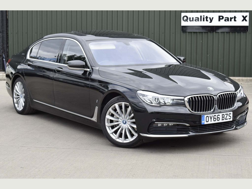 BMW 7 Series Saloon 2.0 740Le 9.2kWh Auto xDrive (s/s) 4dr