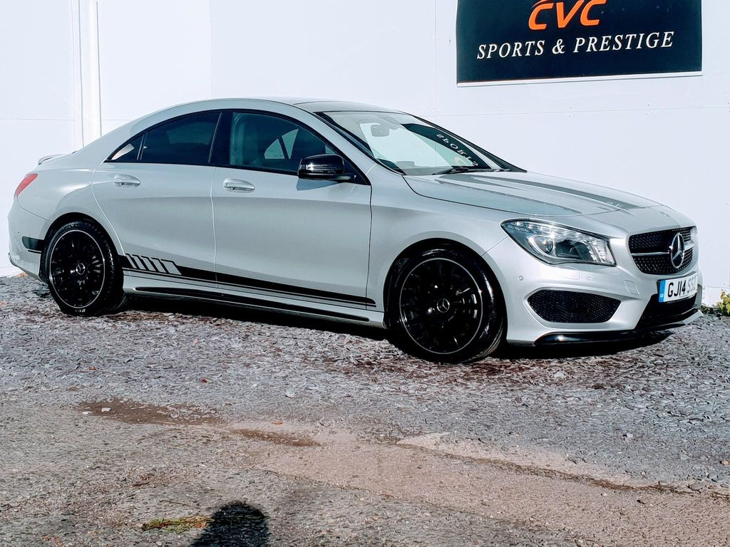 Mercedes-Benz CLA Class Coupe 2.1 CLA220 AMG Sport COMAND 7G-DCT (s/s) 4dr