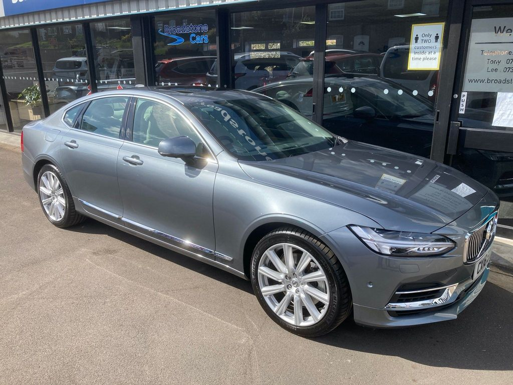 Volvo S90 Saloon 2.0h T8 Twin Engine 10.4kWh Inscription Pro Auto AWD (s/s) 4dr
