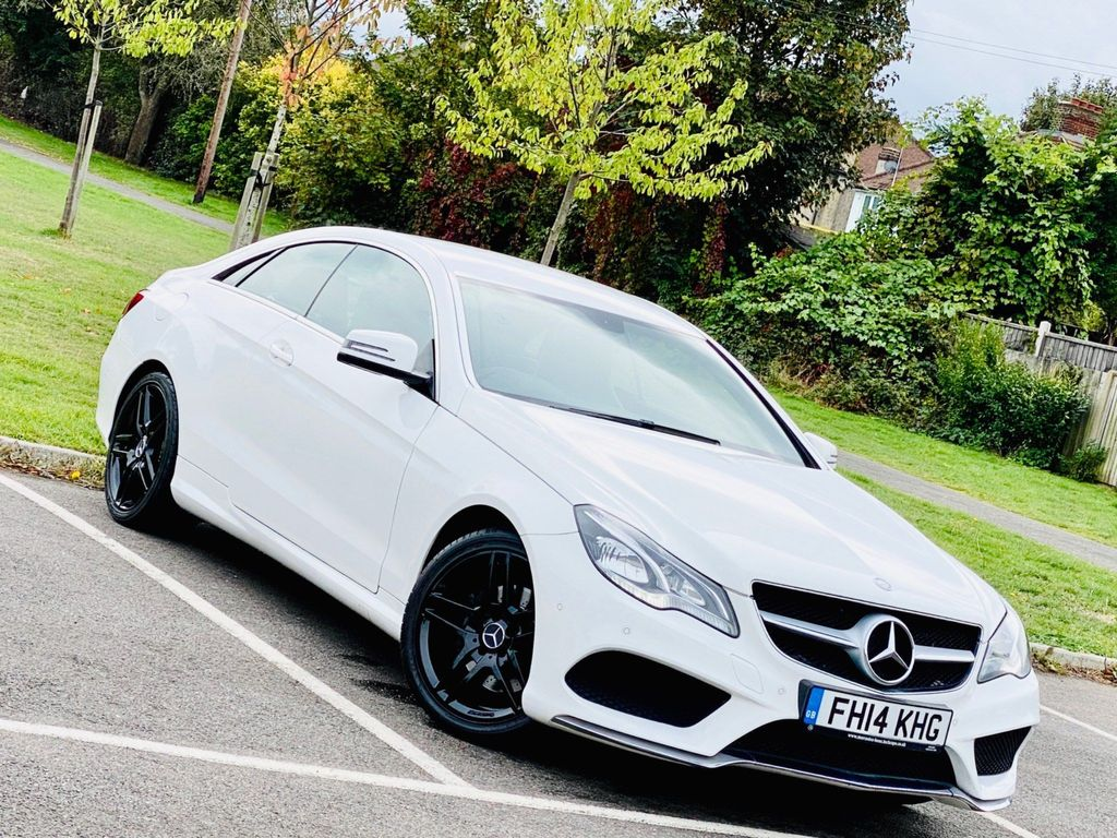 Mercedes-Benz E Class Coupe 2.0 E200 AMG Sport 7G-Tronic Plus 2dr