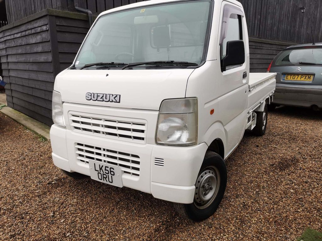 Suzuki Carry Pickup 2007 0.65 SUZUKI CARRY PETROL MANUAL
