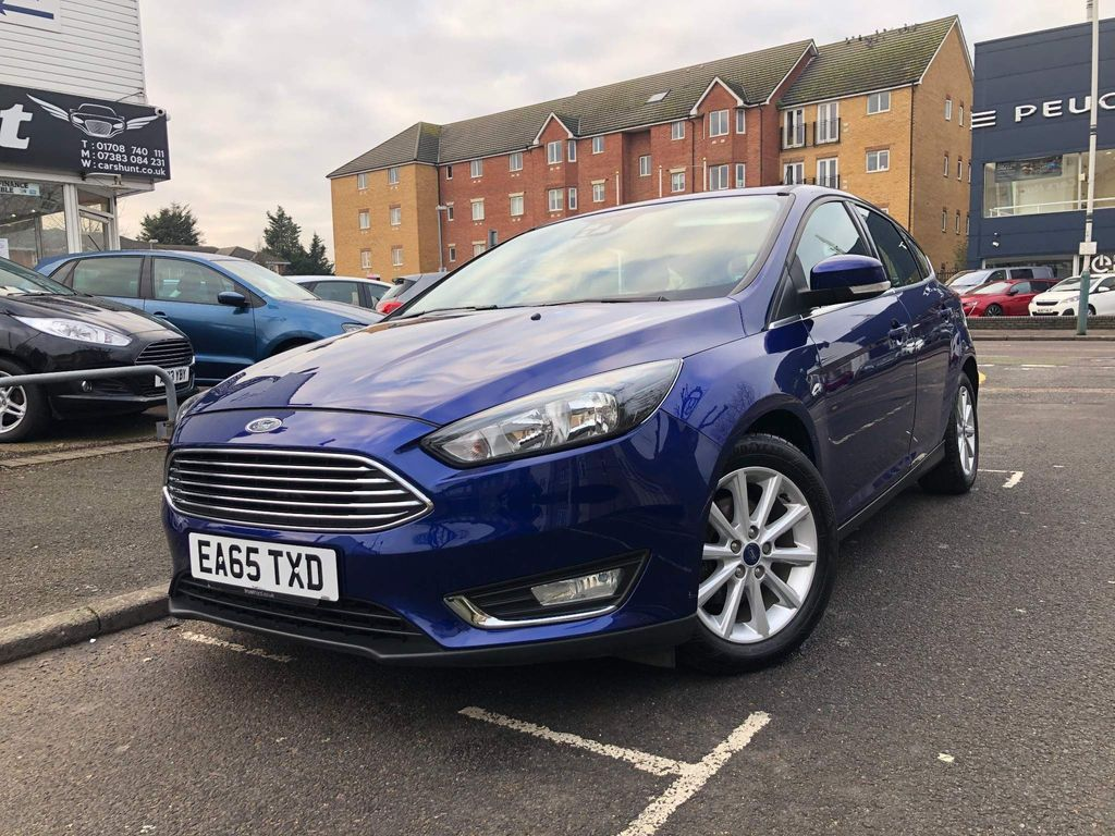 Ford Focus Hatchback 1.6 Titanium Powershift 5dr