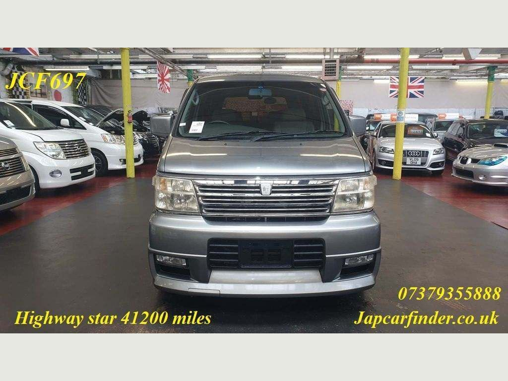 Nissan Elgrand MPV Highway Star only 41200 miles