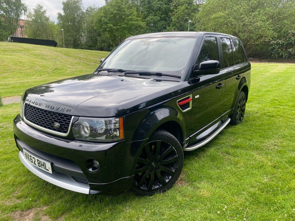 Land Rover Range Rover Sport SUV 3.0 SD V6 HSE Red Auto 4WD 5dr