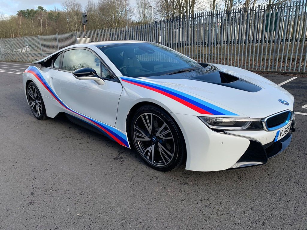 BMW i8 Coupe 1.5 11.6kWh Auto 4WD (s/s) 2dr