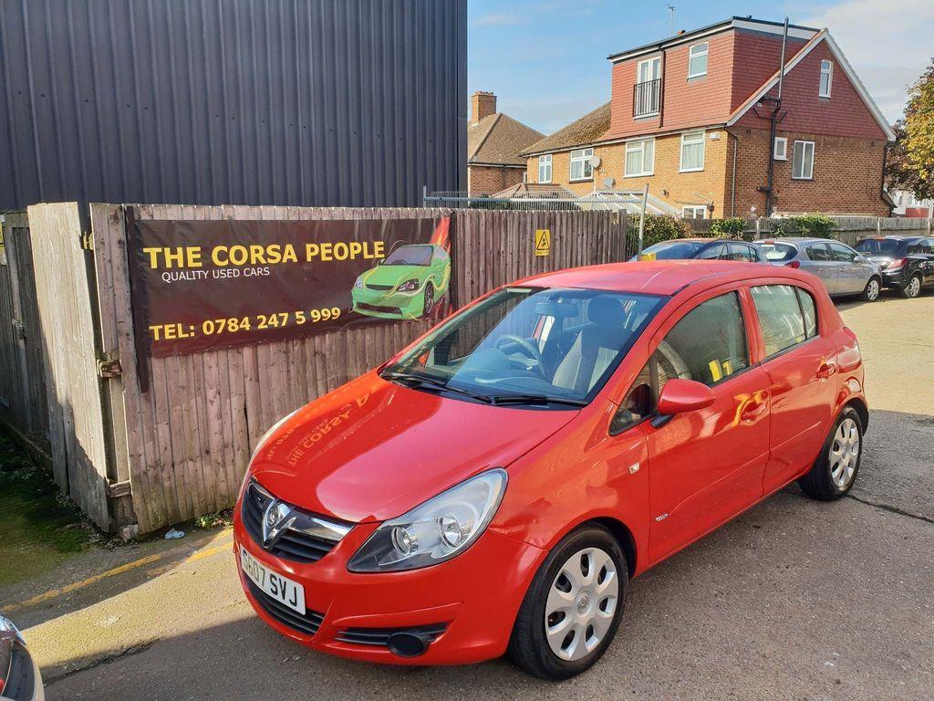 Vauxhall Corsa Hatchback 1.2 i 16v Club Easytronic 5dr