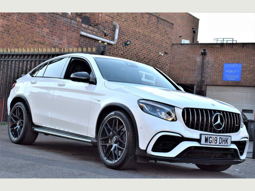 Mercedes-Benz GLC Class Coupe 4.0 GLC63 V8 BiTurbo AMG SpdS MCT 4MATIC+ (s/s) 5dr