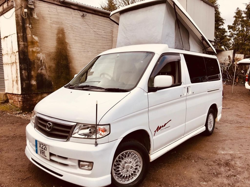 Mazda BONGO POP TOP 4 BERTH FULL SIDE CAMPER CONVERSION Unlisted
