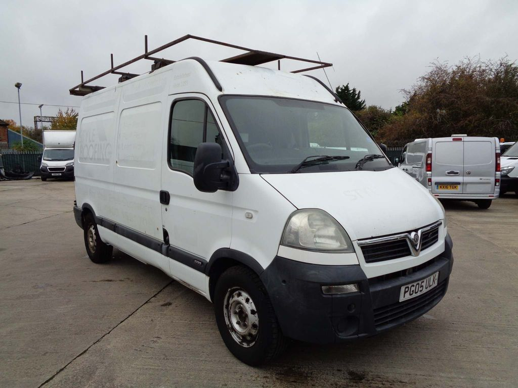 Vauxhall Movano Panel Van 2.5 CDTI 16v 3300 High Roof Van 4dr