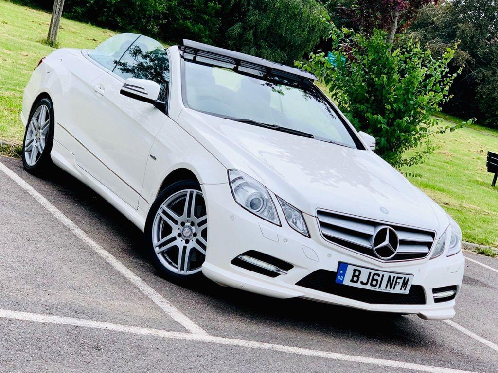 Mercedes-Benz E Class Convertible 1.8 E250 BlueEFFICIENCY Sport Cabriolet G-Tronic 2dr
