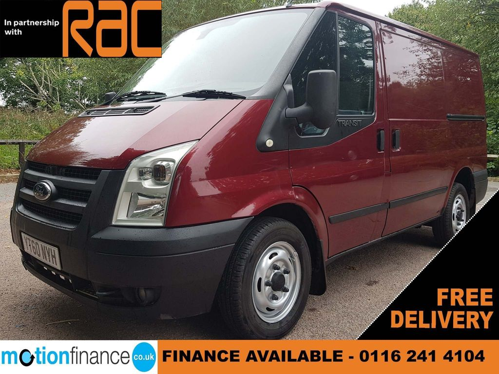 Ford Transit Panel Van 280 SWB LOW ROOF TREND=NO VAT TO PAY=